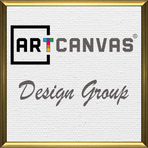 ARTCANVAS Design Group Canvas Art Prints