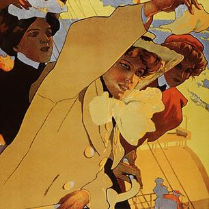 Adolfo Hohenstein Canvas Art Prints