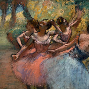 Edgar Degas Canvas Art Prints