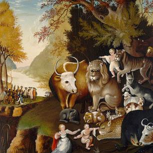 Edward Hicks Canvas Art Prints