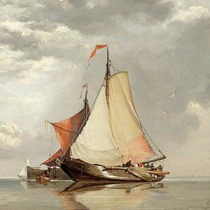 Edward William Cooke Canvas Art Prints