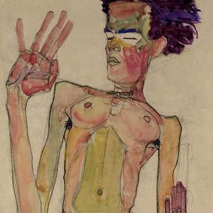 Egon Schiele Canvas Art Prints