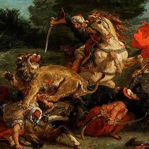 Eugene Delacroix Canvas Art Prints