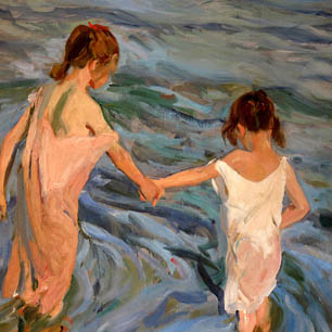 Joaquin Sorolla y Bastida Canvas Art Prints