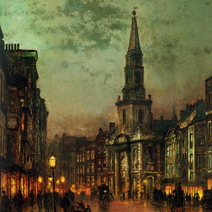 John Atkinson Grimshaw Canvas Art Prints