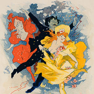 Jules Cheret Canvas Art Prints