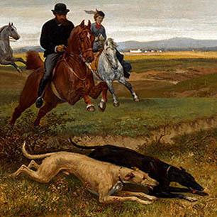 Julius Von Blaas Canvas Art Prints