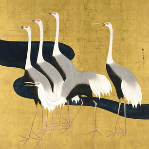 Sakai Hoitsu Canvas Art Prints